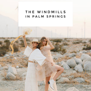 The Windmills in Palm Springs