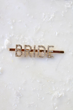 BRIDE Crystal Pave Bobby