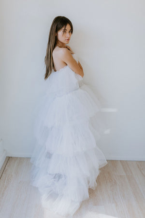 Ester Party Dress - Off-White