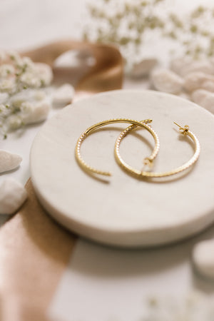 Everyday Glam Hoops