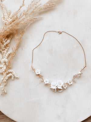 Sample Sale Floral Necklace 1