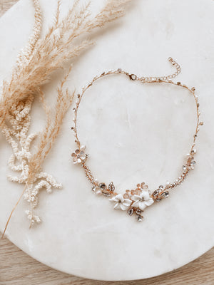Sample Sale Floral Necklace 2