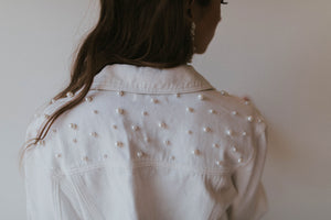 Posy WHITE Mrs Jacket - Back in stock!