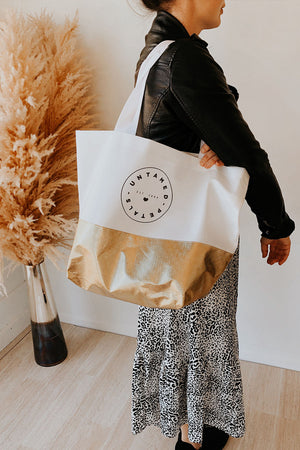 Untamed Petals Tote Bag