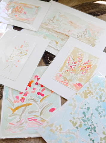 Shelby Leigh Kizer Floral paintings