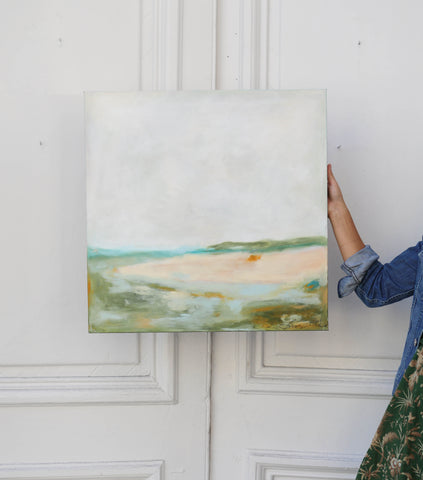 Lucy White painting
