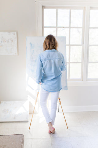 Ally Sheppard painting