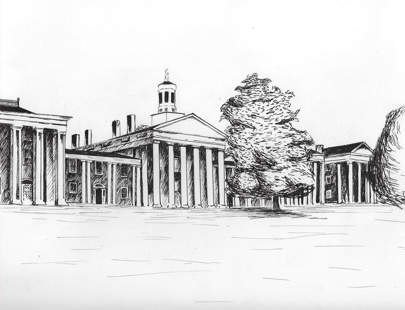 Colonnade Print by Hayley Price, 8x10