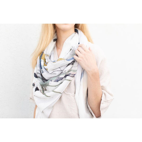 Standing Tall Scarf by Parrish Hoag