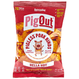PigOut Pigless Pork Rinds (Snack Size)