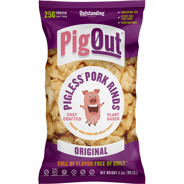 Pig Out Pigless Pork Rinds