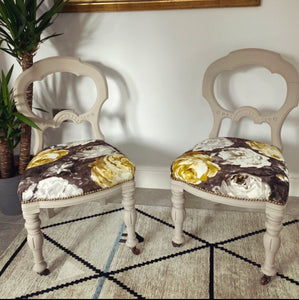 Pair of Dress Chairs