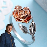 Dean's Red Rose Ring - One Size/Resizable