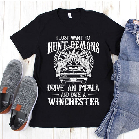 Date a Winchester - Tshirt