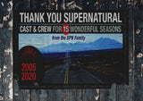 Thank You Supernatural Poster
