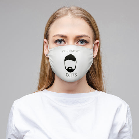 V - Bobby White Cloth Face Mask