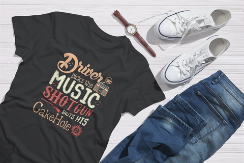 Driver Picks the Music - Tshirt