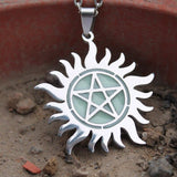 "Supernatural Pentagram ""GLOW in the DARK"""