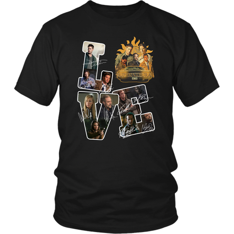 Love Of Supernatural T-Shirt