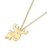 Sam's Moose Necklace