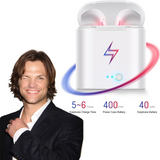 SPN Fan Special Earbuds (Works with all phones via Bluetooth)