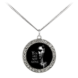 Dean (Not Alone) - Limited Edition Stone Coin Necklace