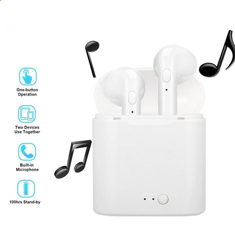 SPN Pod Wireless Bluetooth Earphones (Fits all phones)