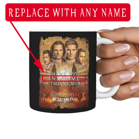 Final Season - PERSONALIZED Mug (DOWN FROM $31.95)