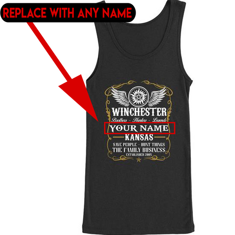 Hunters - PERSONALIZED Tank Top