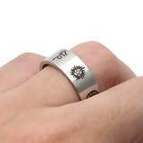 THE SUPERNATURAL STAINLESS STEEL RING