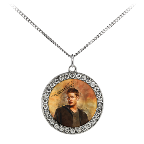 Dean (Pentagram) - Limited Edition Stone Coin Necklace