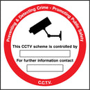 CCTV Preventing & Detecting Crime. Promoting Public Safety. This CCTV scheme is controlled by: ..... For further information contact: ..... Sign