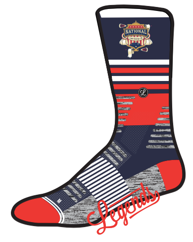 Legends Lake George Socks