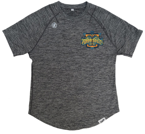 Legends PrimeTime Shootout Gray Adult Technical T-Shirt