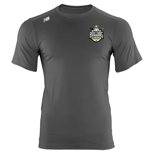 New Balance Bulldog Brawl Youth Gray Tech T-Shirt
