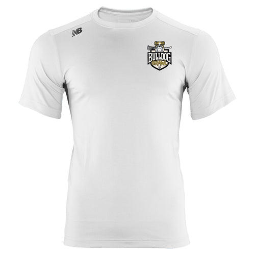 New Balance Bulldog Brawl Youth White Tech T-Shirt
