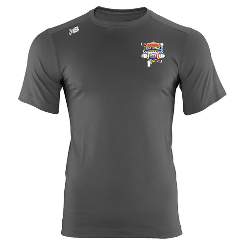 New Balance Lake George Youth Gray Tech T-Shirt