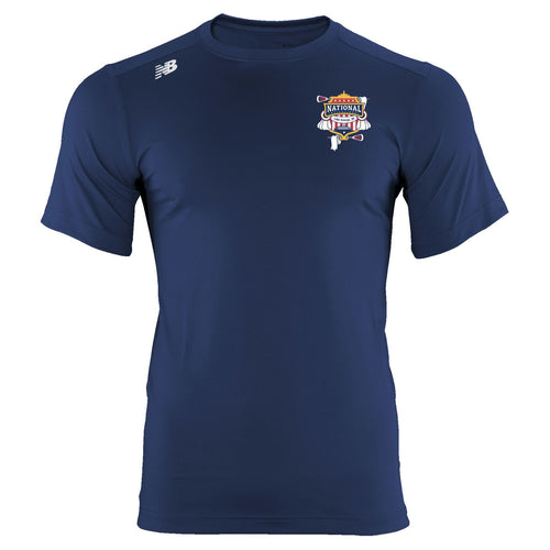 New Balance Lake George Youth Navy Tech T-Shirt