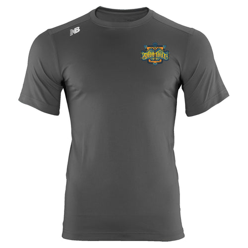 New Balance PrimeTime Shootout Youth Gray Tech T-Shirt