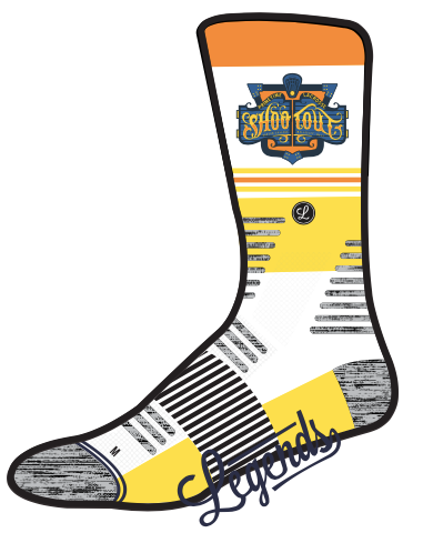 Legends Shootout Socks