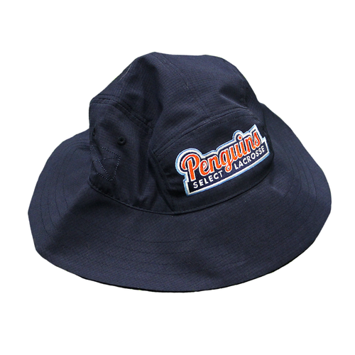 Navy Penguins Select Lacrosse Bucket Hat