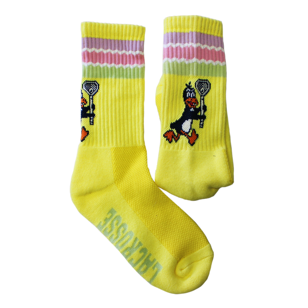 Yellow Penguins Socks