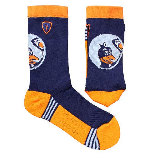 Adrenaline Navy Penguins Socks