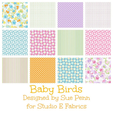 BABY BIRDS By Sue Penn for Studio e