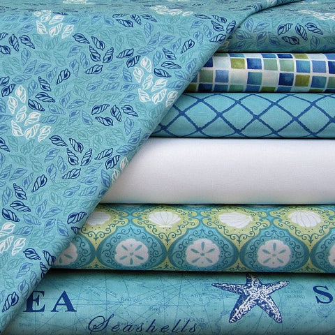 Seascapes Range by Deb Strain for Moda