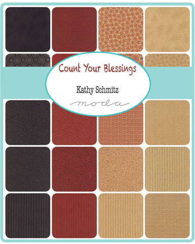 COUNT YOUR BLESSINGS Christmas range by Kathy Schmitz for Moda