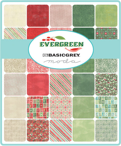 Evergreen for Moda, By Basic Grey