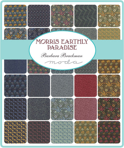 MORRIS EARTHLY PARADISE WILLIAM MORRIS REPRODUCTION BY BARBARA BRACKMAN FOR MODA