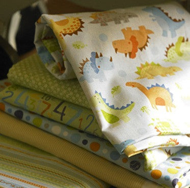 Babysaurus Range by Sharon Kropp for Blend Fabrics