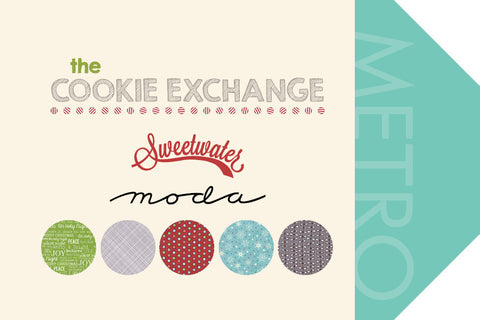 COOKIE EXCHANGE FROM SWEETWATER, FOR MODA CHRISTMAS RANGE